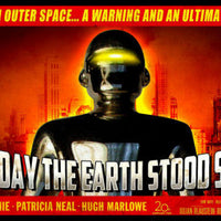 The Day The Earth Stood Still Movie Posters Fridge Magnet 6x9.5 Large