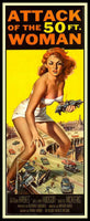 Attack of the 50 ft Woman Magnetic Movie Poster Fridge Magnet 7x17 Large