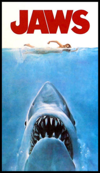 Jaws Magnetic Movie Poster Large Fridge Magnet