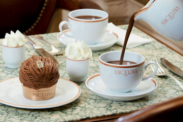 Comment servir le chocolat chaud Angelina ?