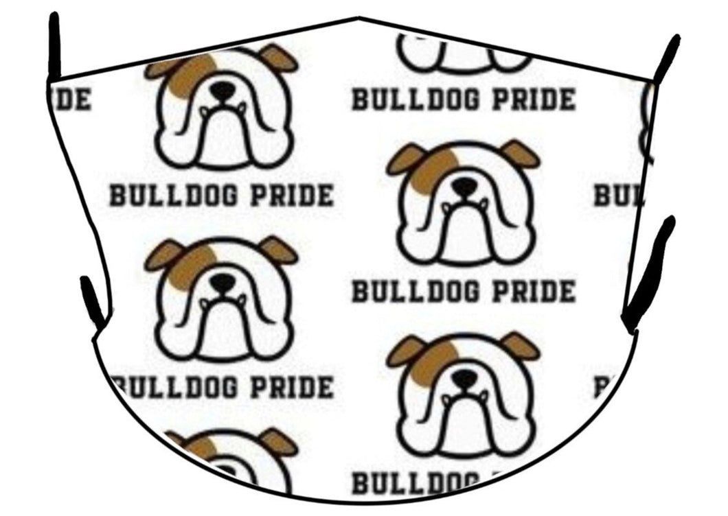 English Bulldog Pride Mask