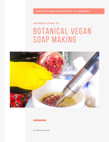 Botanical Vegan Soap making Ebook