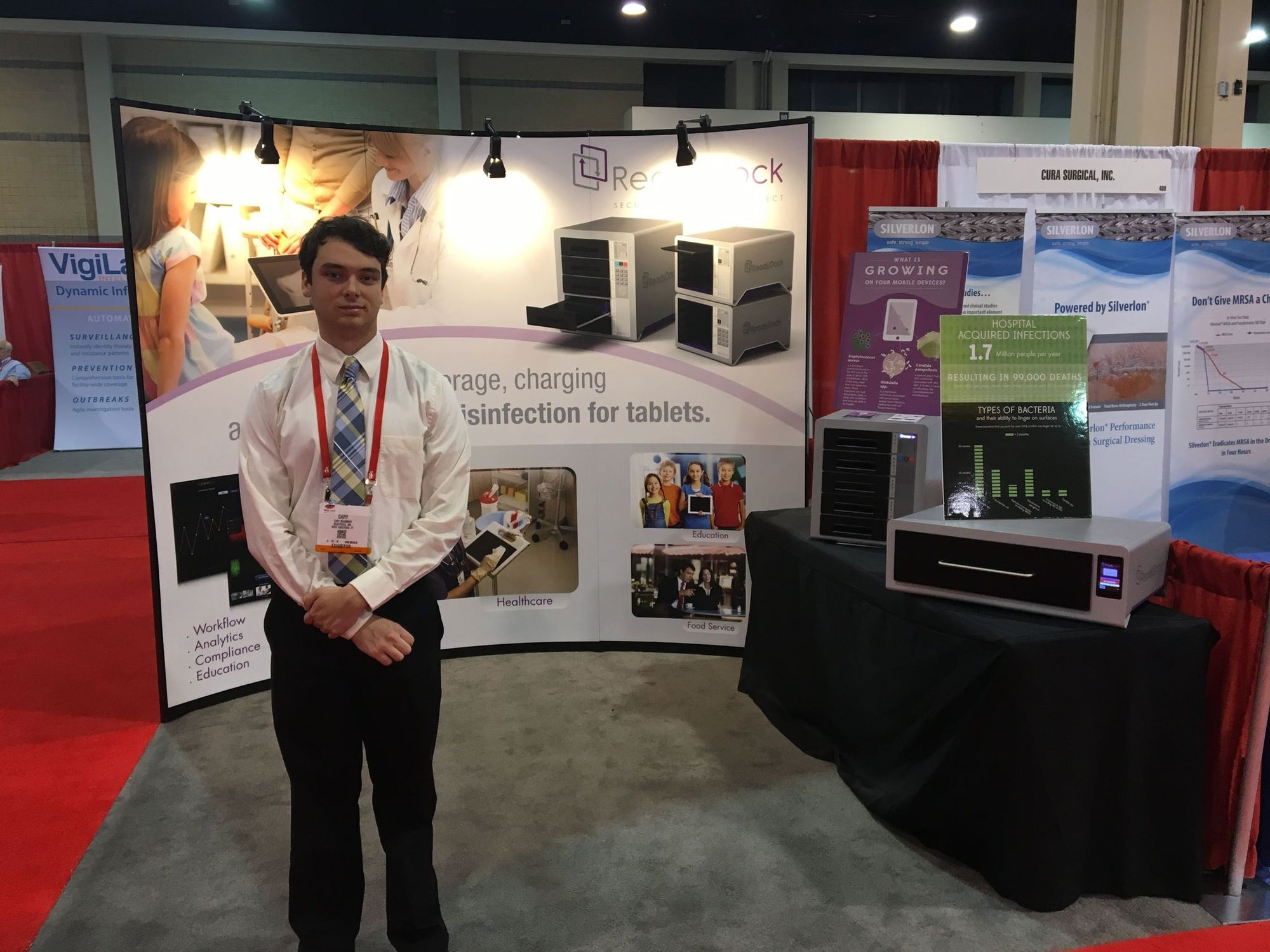 iCleanse Duo Featured at APIC Exhibition