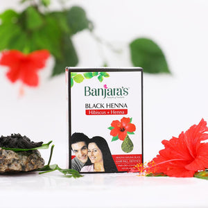 Load image into Gallery viewer, Banjara's Black Henna with Hibiscus