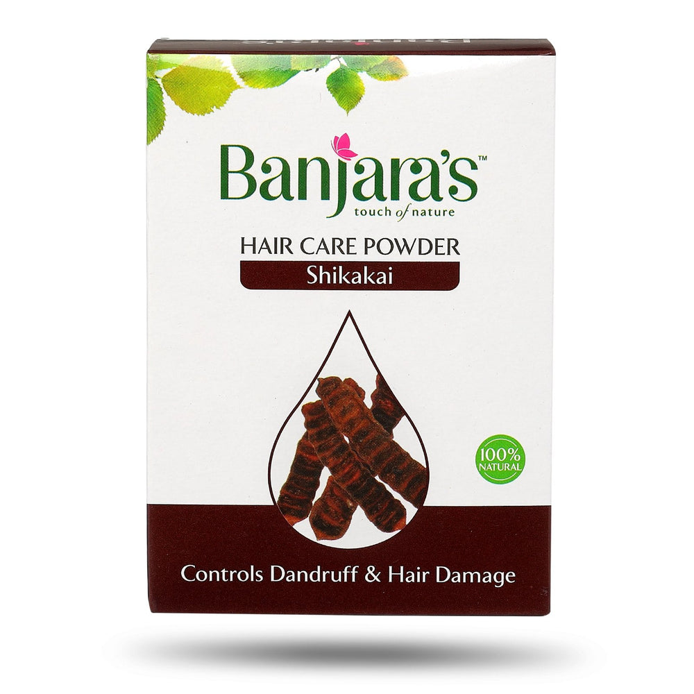 Load image into Gallery viewer, Banjara's Shikakai Hair Care Powder 100gms (5*20gms)