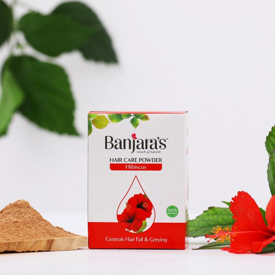Banjara's Hibiscus Hair Care Powder 100gms (5*20gms)
