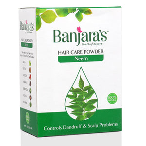 Load image into Gallery viewer, Banjara's Neem Hair Care Powder 100gms (5*20gms)