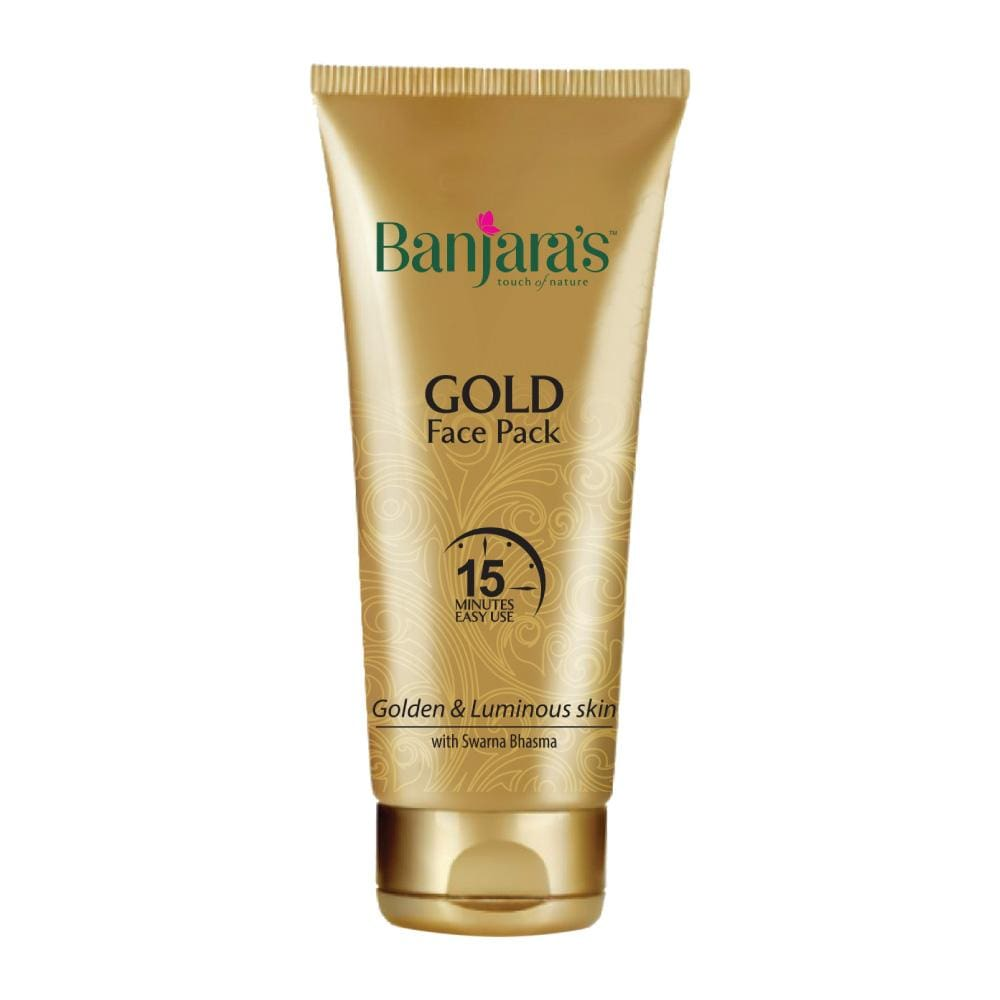 banjaras gold face pack for golden glow