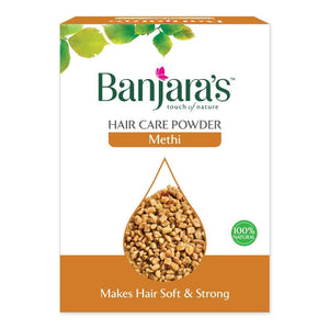 Load image into Gallery viewer, Banjara's Methi Hair Care Powder 100gms (5*20gms)