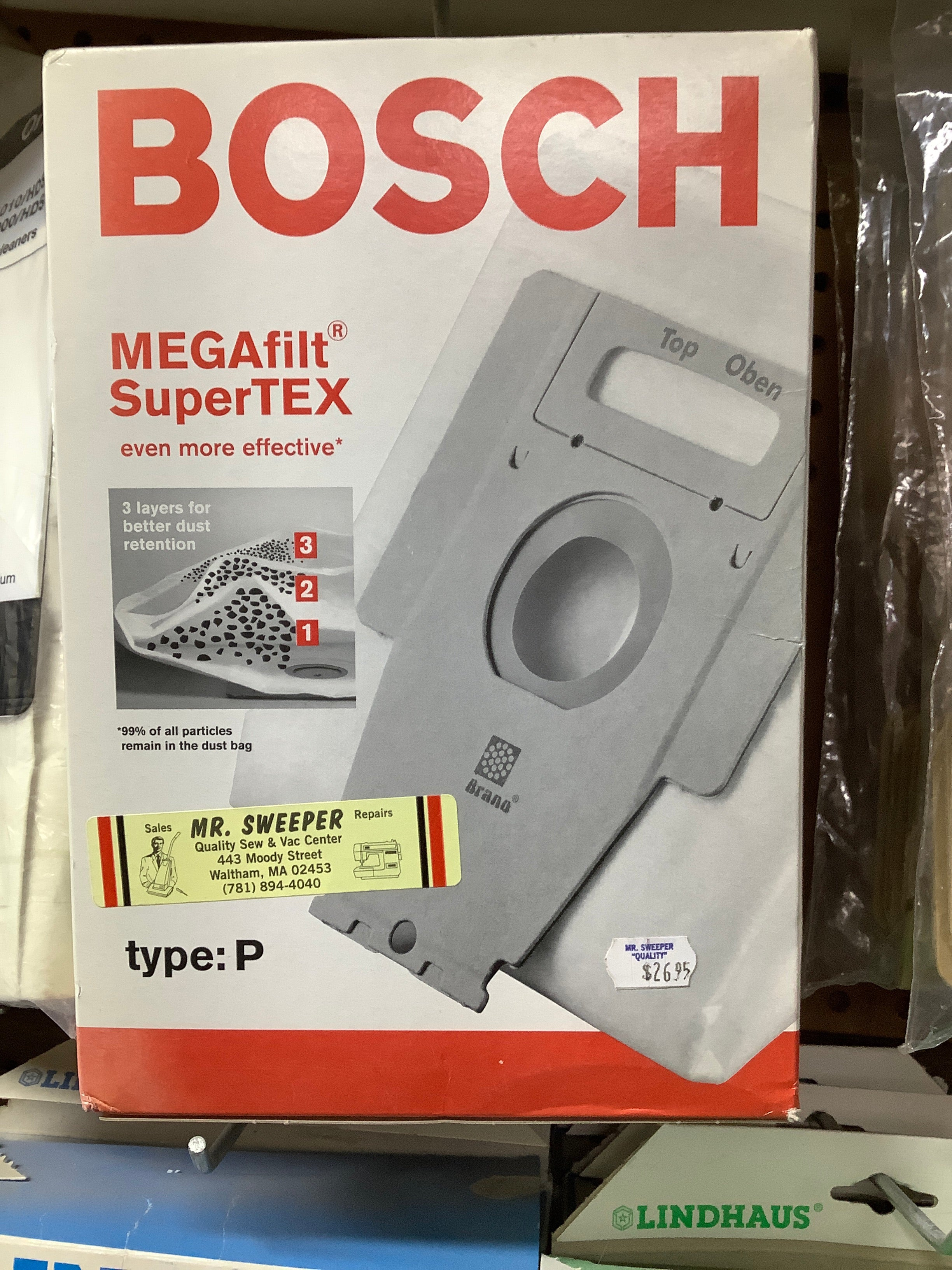 Bosch MEGafilf SuperTEX  type P