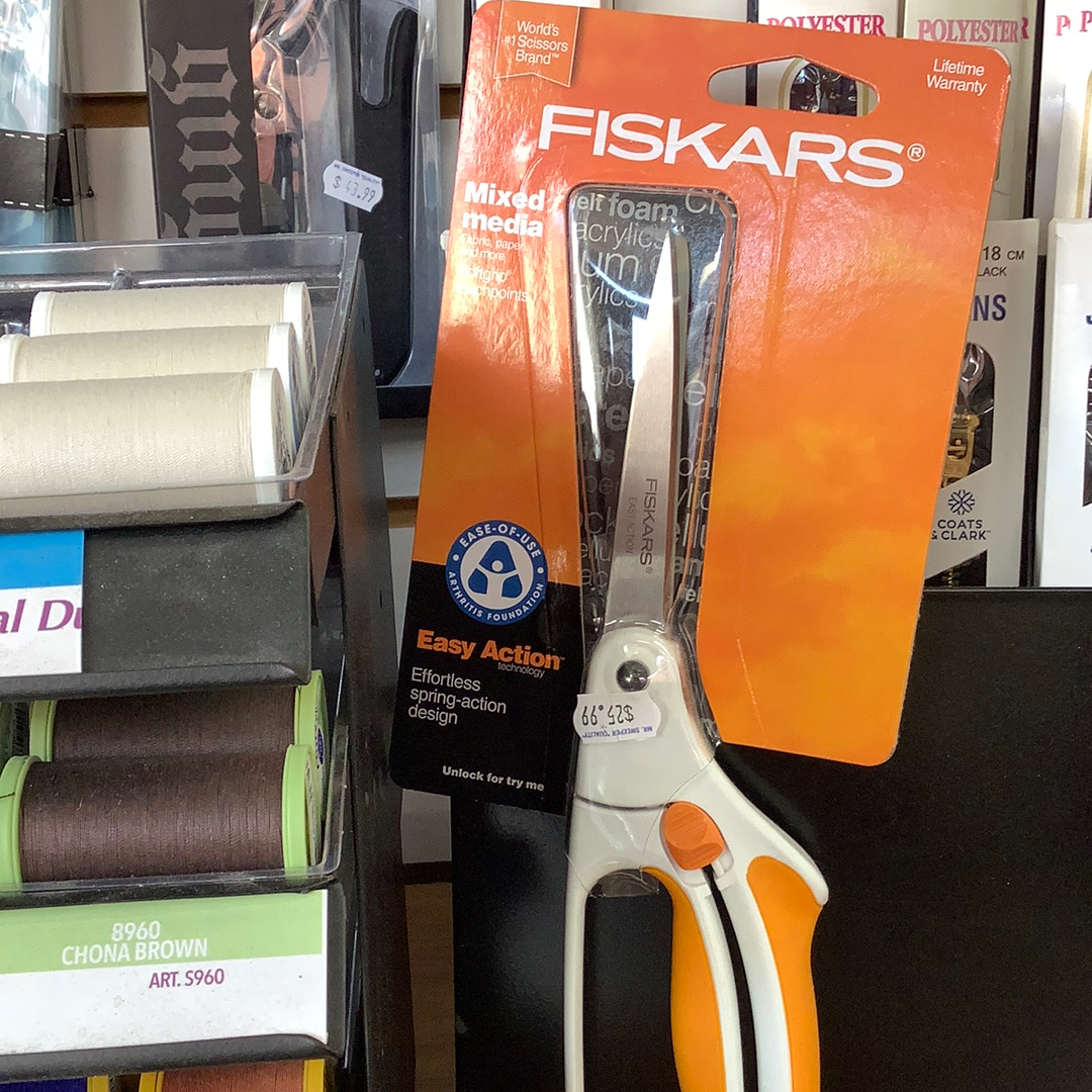 Fiskars mixed media fabric paper & more