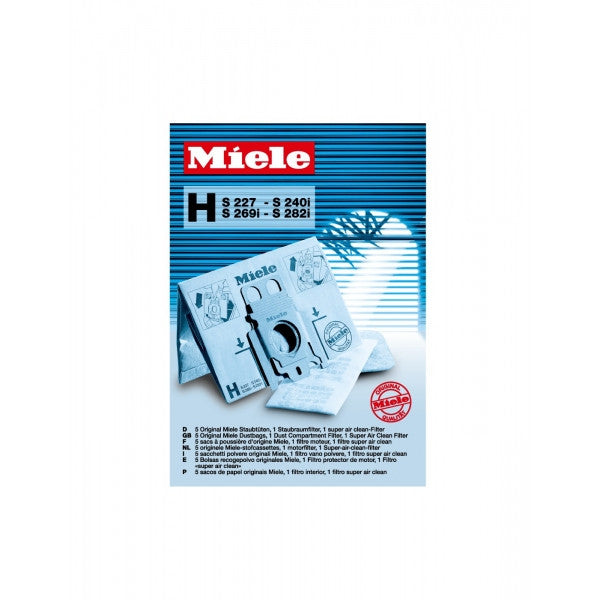 Miele - Type H Replacement Dustbags