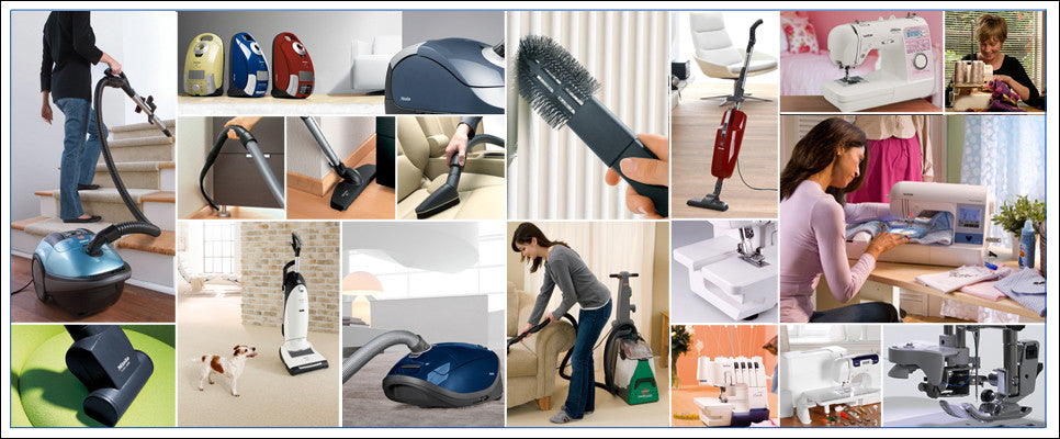 Mr Sweeper Sew and Vac - vacuums by miele, royal, dyson, canisters, uprights, sewing machines by brother, janome