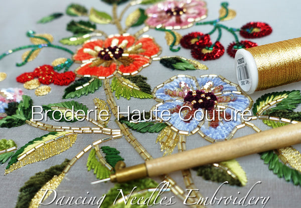 Haute Couture Embroidery Course Hong Kong