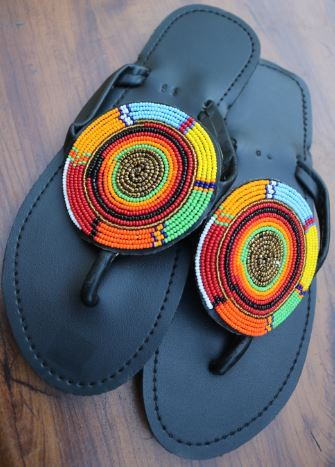 Sandals- Hand Crafted Sandals from Recycled Tires - by Dingilo Daka
