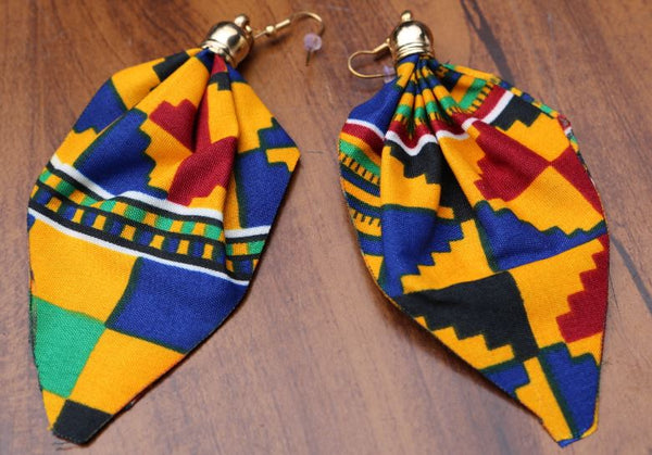 EARRINGS- Cloth Earrings