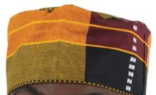 HAT- Kente Cloth Unisex Kufi Hats (OTHER COLORS)