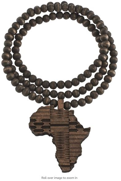 NECKLACE- Africa Wooden Necklaces(OTHER COLORS)