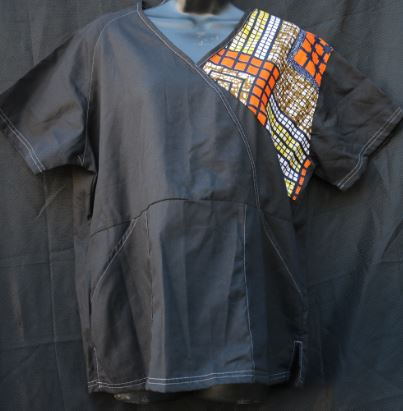 Scrubs-Original African Design Scrubs