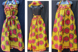 ELASTIC SKIRTS-  Unique Africa designs (OTHER COLORS)