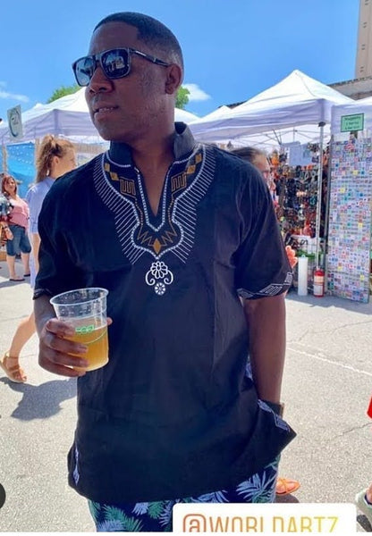 DASHIKI- 'The Black Panther' Dashiki
