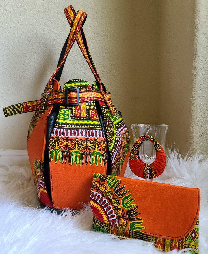 PURSE- Original Dashiki Design Purses