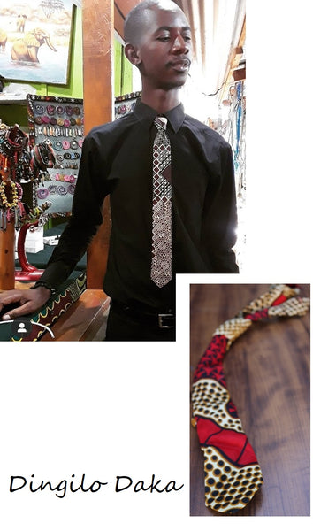 Neckties - Skinny Neckties - by Dingilo Daka