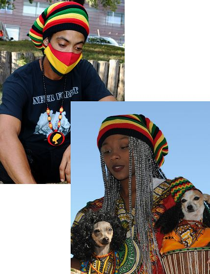 Hat- Rasta Weaved Hat