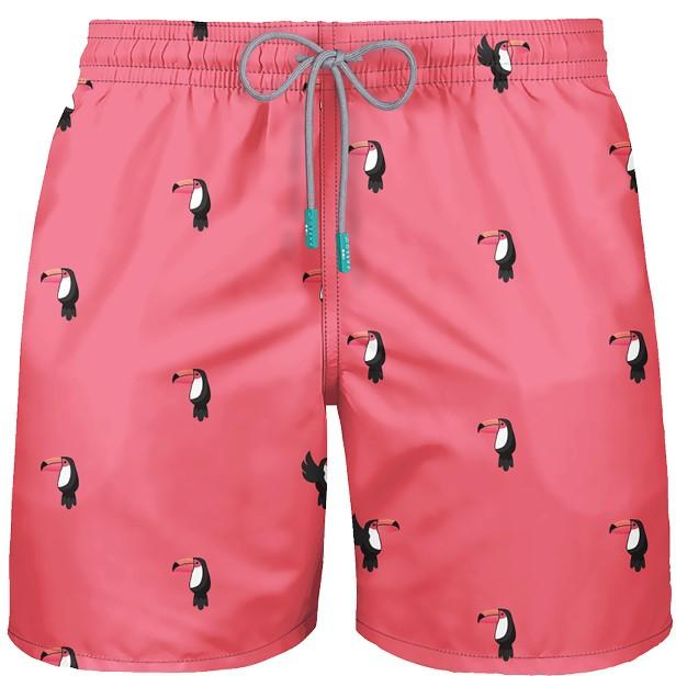 BOARDSHORT MEN SWIMWEAR TOUCAN RIO STYLE - FREE SHIPPING