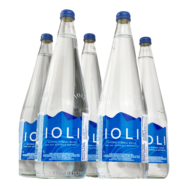 Ioli Natural Spring Water-Glass