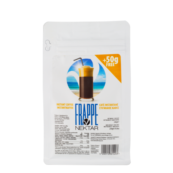 Nektar Frappe Instant Coffee (powder form)