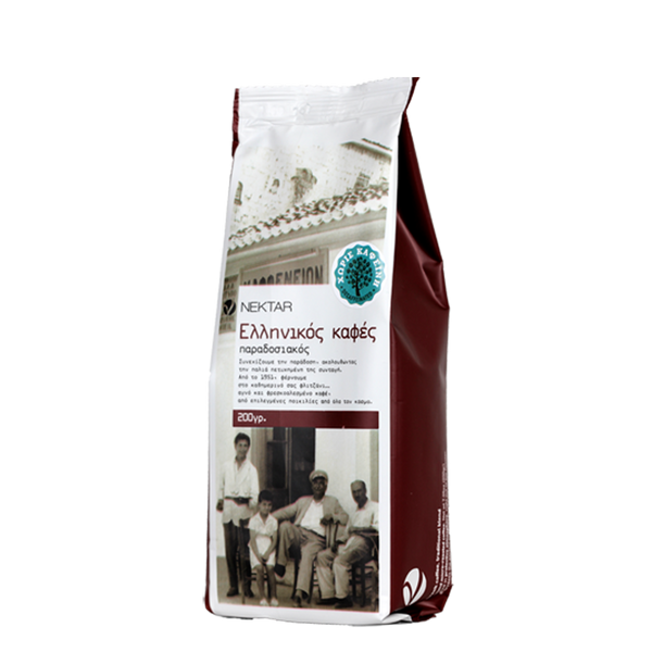 Nektar Traditional Blend Organic Decaffeinated Greek Coffee (May 20th arrival)
