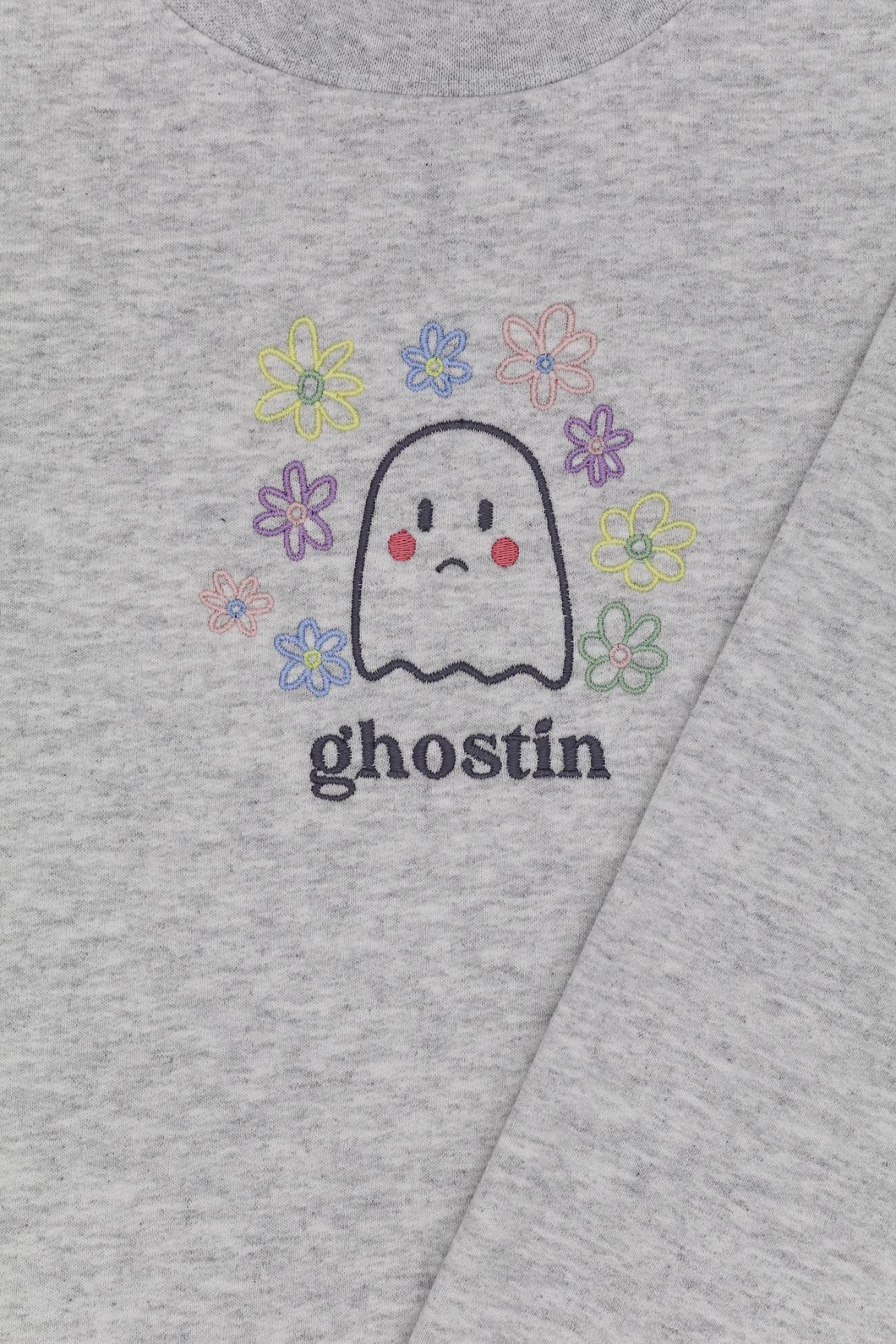 Ghostin Ash Grey Crewneck