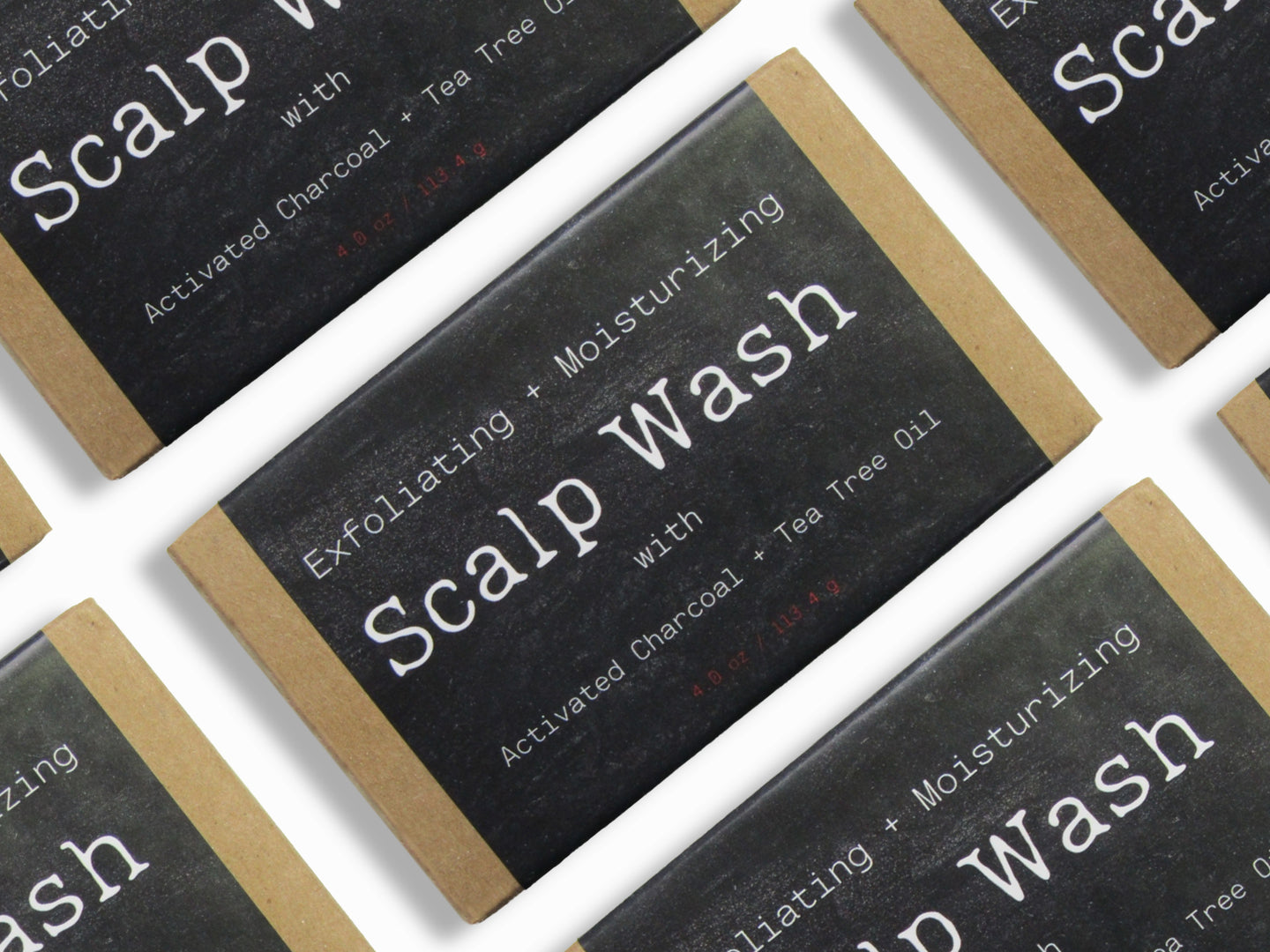 Scalp Wash (Box of 100) [Bulk Discount]