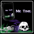 Me Time - Large Black Mug