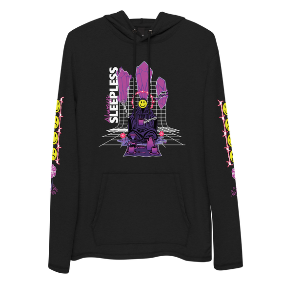 Always Sleepless - Hybrid Sweater Shirt