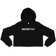 Caffinenate Then Dominate - Cropped Hoodie
