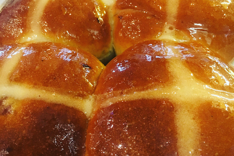 Hot Cross Buns (min order 6)