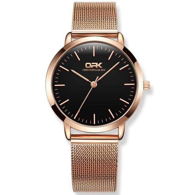 OPK Ultra Thin Minimalist Mesh Women's Watch - Used by God Clothing
