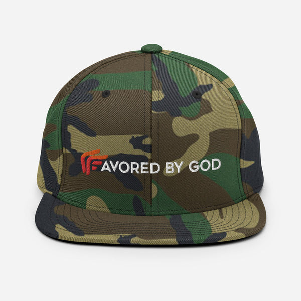 Signature Favored By God Snapback Hat
