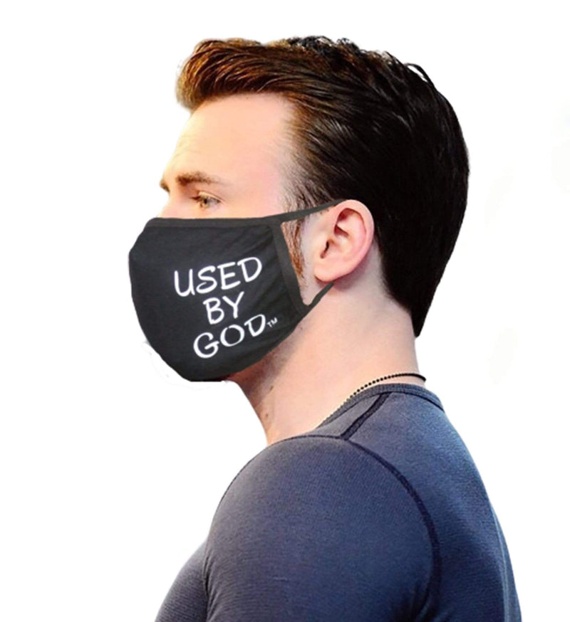 Used By God Face Mask Cotton - TWO FOR $10.99, Enter Code MASK - Used by God Clothing