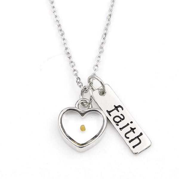 VILLWICE Faith Mustard Seed Women's Necklace - Used by God Clothing
