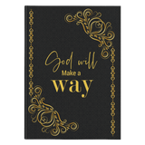 God Will Make A Way Journal - Used by God Clothing