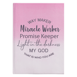 Way Maker Miracle Worker Journal - Used by God Clothing