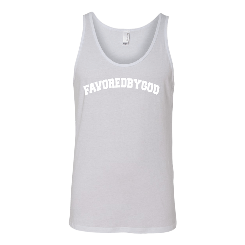 MEN White / S Favored By God Collegiate Tank christian clothing brand christian tees christian apparel christian shirts christian tshirts faith hoodies christian hoodies used by god clothing favored by god clothing christian clothing faith apparel christian shirts christian tshirts favored by god favored by god clothing used by god clothing christian jewelry christian gifts christian apparel for women christian apparel for men faith over fear christian tank tops christian sportswear christian activewear