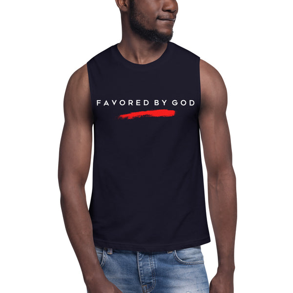 By His Stripes Favored Performance Tank