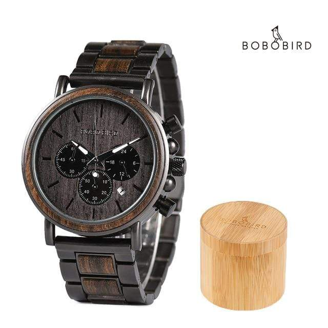 BOBO BIRD Wood Quartz Luxury Men's Watch - Used by God Clothing