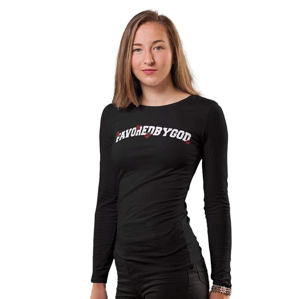 WOMEN Favored By God Women's Long Sleeve Tee christian clothing brand christian tees christian apparel christian shirts christian tshirts faith hoodies christian hoodies used by god clothing favored by god clothing christian clothing faith apparel christian shirts christian tshirts favored by god favored by god clothing used by god clothing christian jewelry christian gifts christian apparel for women christian apparel for men faith over fear christian tank tops christian sportswear christian activewear