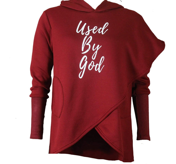 Women's Used By God Hoodie Sweatshirt - TWO For $34.99 - Used by God Clothing