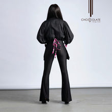Load image into Gallery viewer, Black Booty Jacket